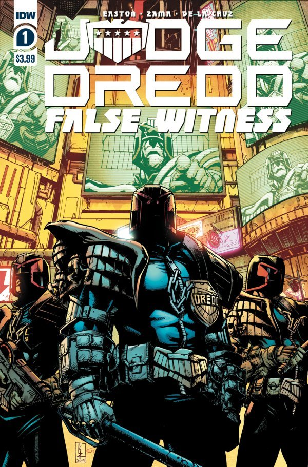 Comic Pulls for weeks of March 18 and 25, 2020 JUDGE DREDD FALSE WITNESS #1