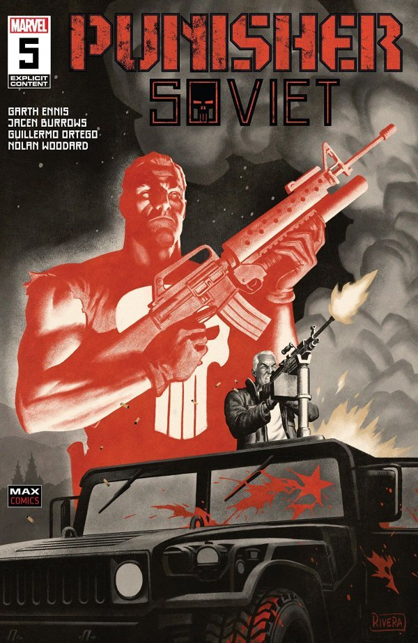 Comic Pulls for week of March 13, 2020 PUNISHER SOVIET #5