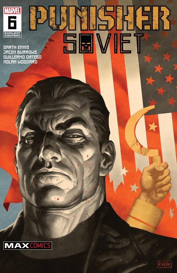 Comic Pulls for weeks of March 18 and 25, 2020 PUNISHER SOVIET #6
