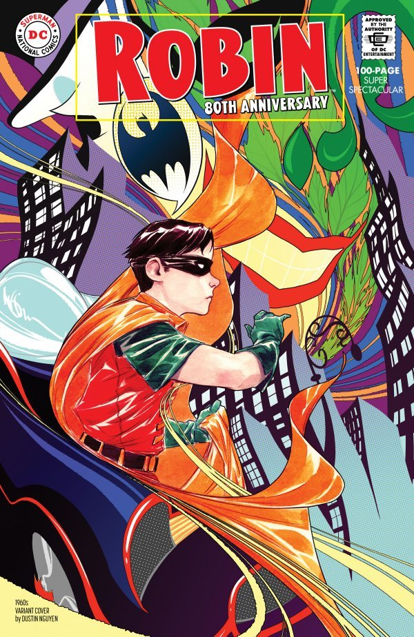 Comic Pulls for weeks of March 18 and 25, 2020 ROBIN 80TH ANNIVERSARY 100-PAGE SUPER SPECTACULAR #1 1960S VARIANT EDITION