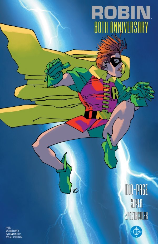 Comic Pulls for weeks of March 18 and 25, 2020 ROBIN 80TH ANNIVERSARY 100-PAGE SUPER SPECTACULAR #1 1980S VARIANT EDITION