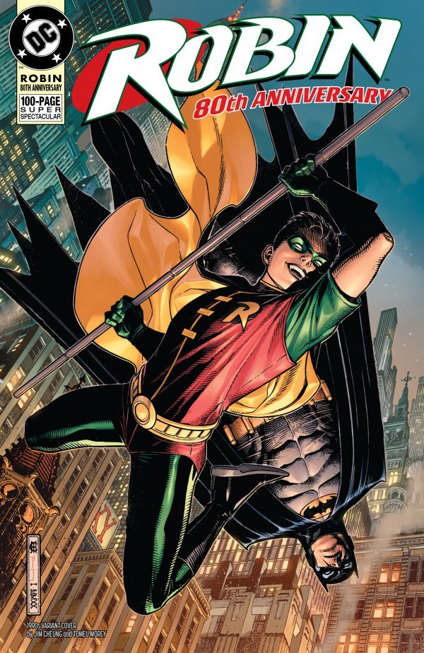 Comic Pulls for weeks of March 18 and 25, 2020 ROBIN 80TH ANNIVERSARY 100-PAGE SUPER SPECTACULAR #1 1990S VARIANT EDITION
