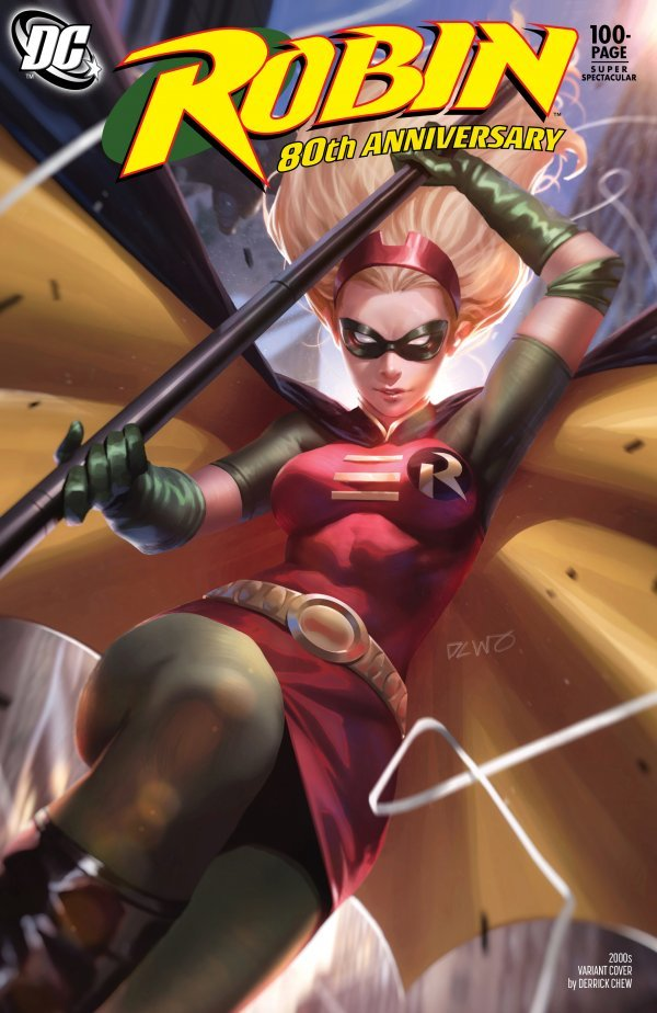 Comic Pulls for weeks of March 18 and 25, 2020 ROBIN 80TH ANNIVERSARY 100-PAGE SUPER SPECTACULAR #1 2000S VARIANT EDITION