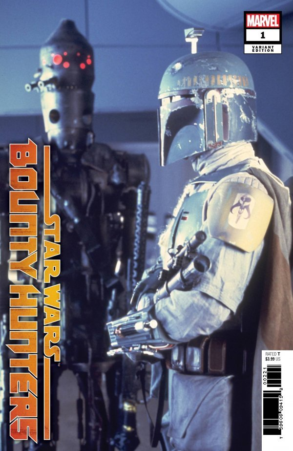 Comic Pulls for week of March 13, 2020 STAR WARS BOUNTY HUNTERS #1 110 MOVIE VARIANT