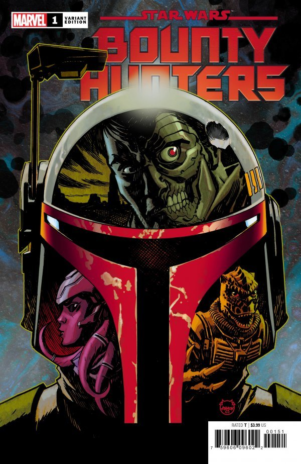 Comic Pulls for week of March 13, 2020 STAR WARS BOUNTY HUNTERS #1 150 JOHNSON VARIANT