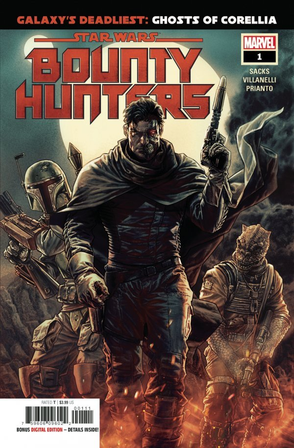 Comic Pulls for week of March 13, 2020 STAR WARS BOUNTY HUNTERS #1