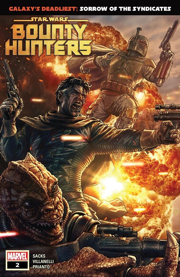Comic Pulls for weeks of March 18 and 25, 2020 STAR WARS BOUNTY HUNTERS #2