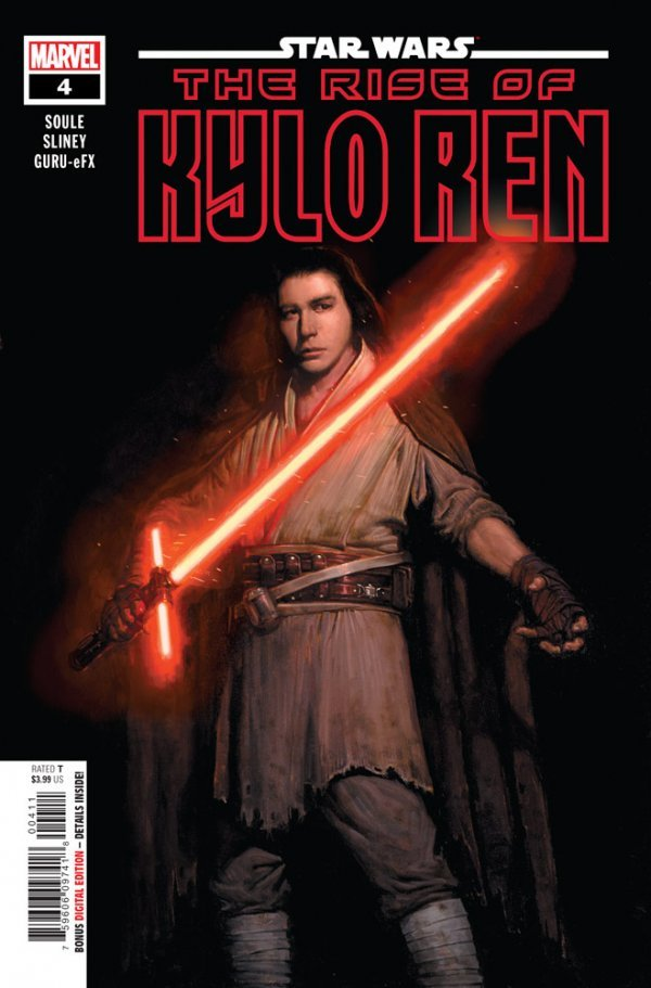 Comic Pulls for week of March 13, 2020 STAR WARS THE RISE OF KYLO REN #4