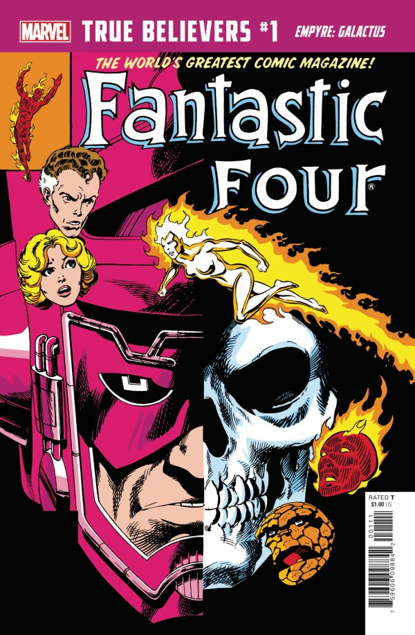 Comic Pulls for weeks of March 18 and 25, 2020 TRUE BELIEVERS EMPYRE – GALACTUS #1