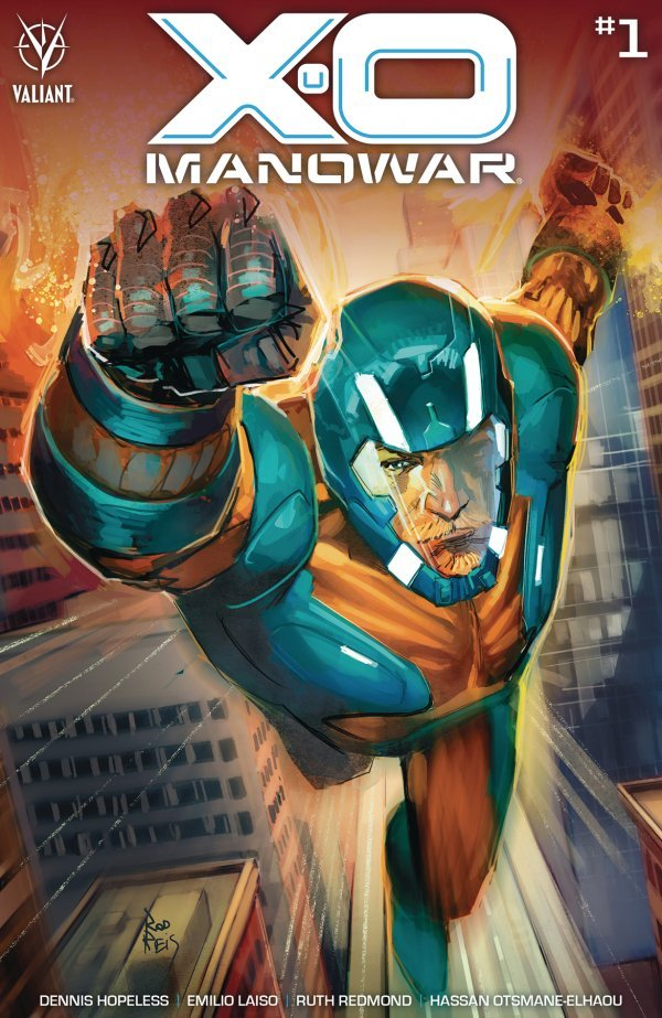 Comic Pulls for weeks of March 18 and 25, 2020 X-O MANOWAR #1 COVER C REIS