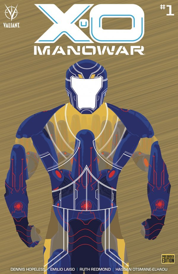 Comic Pulls for weeks of March 18 and 25, 2020 X-O MANOWAR #1 COVER F 1250 COVER BRONZE VARIANT