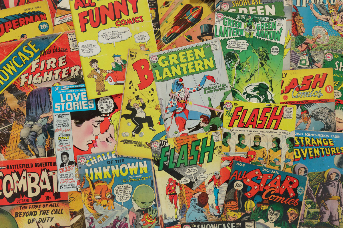 Collection of every DC comic ever to hit Sotheby's auction block Collection of every DC comic ever to hit Sotheby's auction block