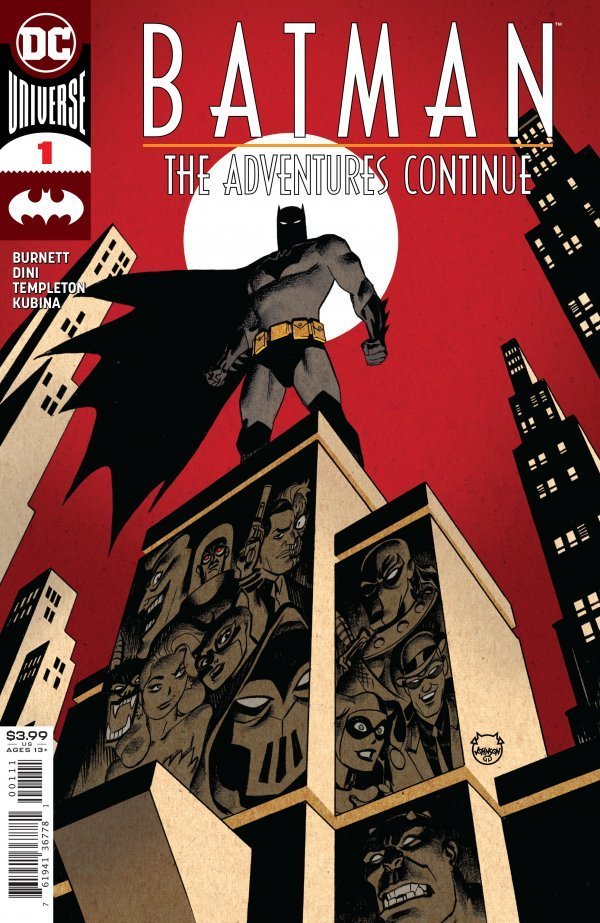 Comic Pulls up to the week of June 10, 2020 BATMAN THE ADVENTURES CONTINUE #1