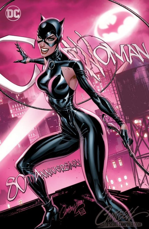 Comic Pulls up to the week of June 5, 2020 CATWOMAN 80TH ANNIVERSARY 100-PAGE SUPER SPECTACULAR #1 J. SCOTT CAMPBELL VARIANT A