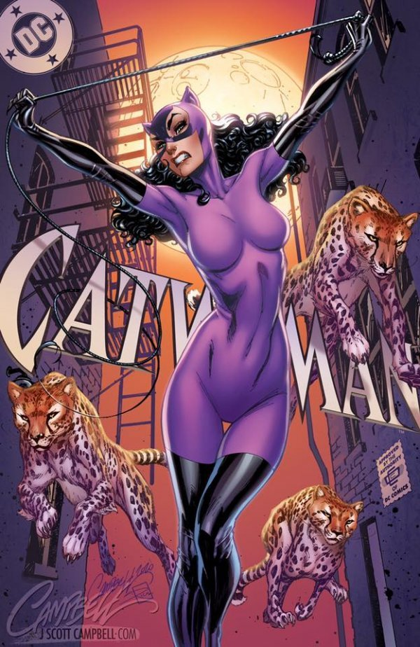 Comic Pulls up to the week of June 5, 2020 CATWOMAN 80TH ANNIVERSARY 100-PAGE SUPER SPECTACULAR #1 J. SCOTT CAMPBELL VARIANT D