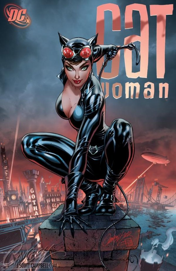 Comic Pulls up to the week of June 5, 2020 CATWOMAN 80TH ANNIVERSARY 100-PAGE SUPER SPECTACULAR #1 J. SCOTT CAMPBELL VARIANT E