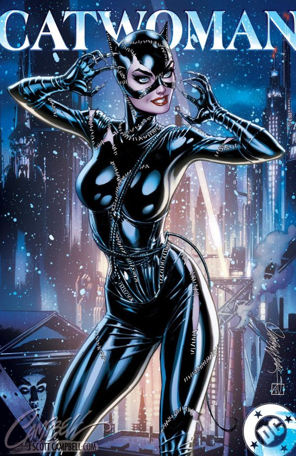 Comic Pulls up to the week of June 5, 2020 CATWOMAN 80TH ANNIVERSARY 100-PAGE SUPER SPECTACULAR #1 J. SCOTT CAMPBELL VARIANT H