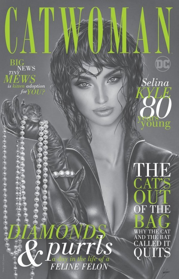 Comic Pulls up to the week of June 5, 2020 CATWOMAN 80TH ANNIVERSARY 100-PAGE SUPER SPECTACULAR #1 NATALI SANDERS VARIANT C