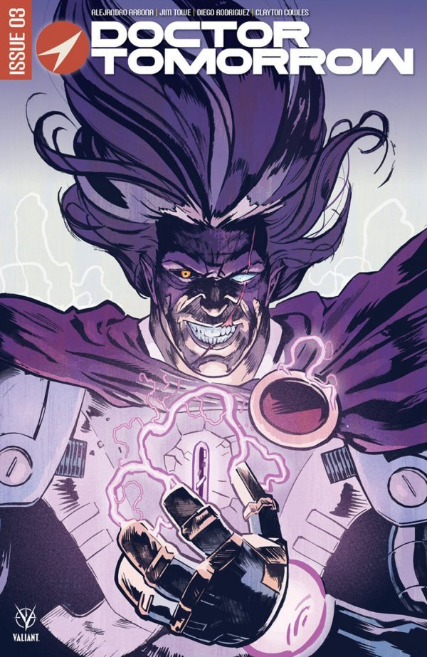 Comic Pulls for the week of June 25, 2020 DOCTOR TOMORROW #3 COVER C WALSH