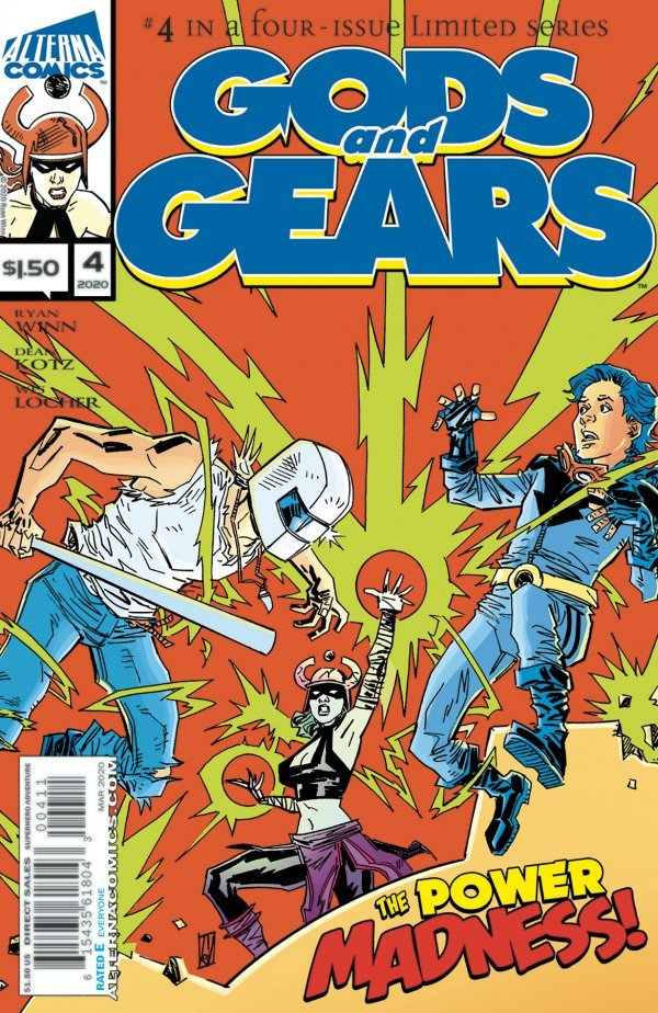Comic Pulls up to the week of June 5, 2020 GODS AND GEARS #4