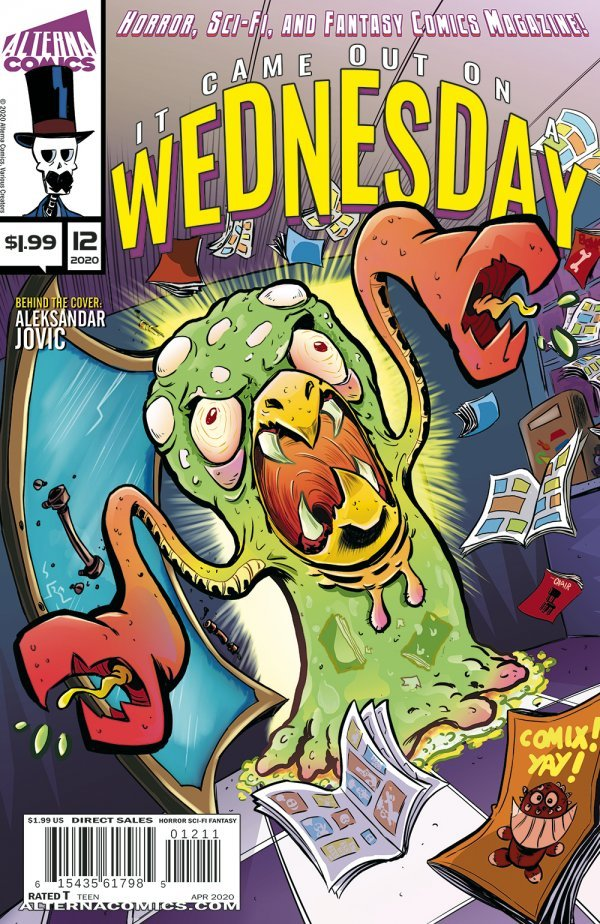 Comic Pulls up to the week of June 5, 2020 IT CAME OUT ON A WEDNESDAY #12