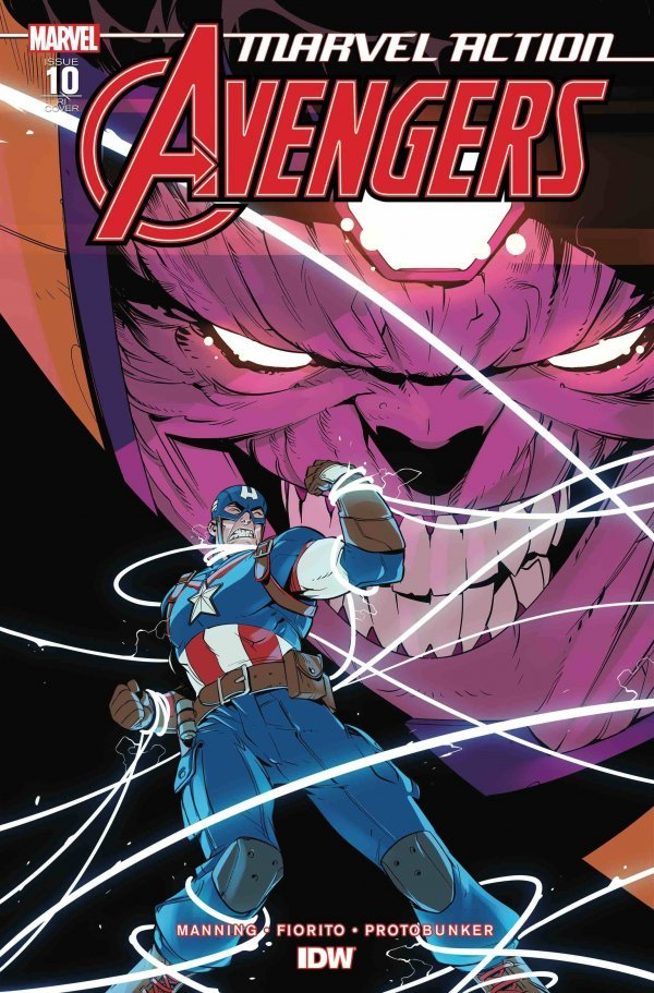 Comic Pulls up to the week of June 5, 2020 MARVEL ACTION AVENGERS #10 110 INCENTIVE VARIANT