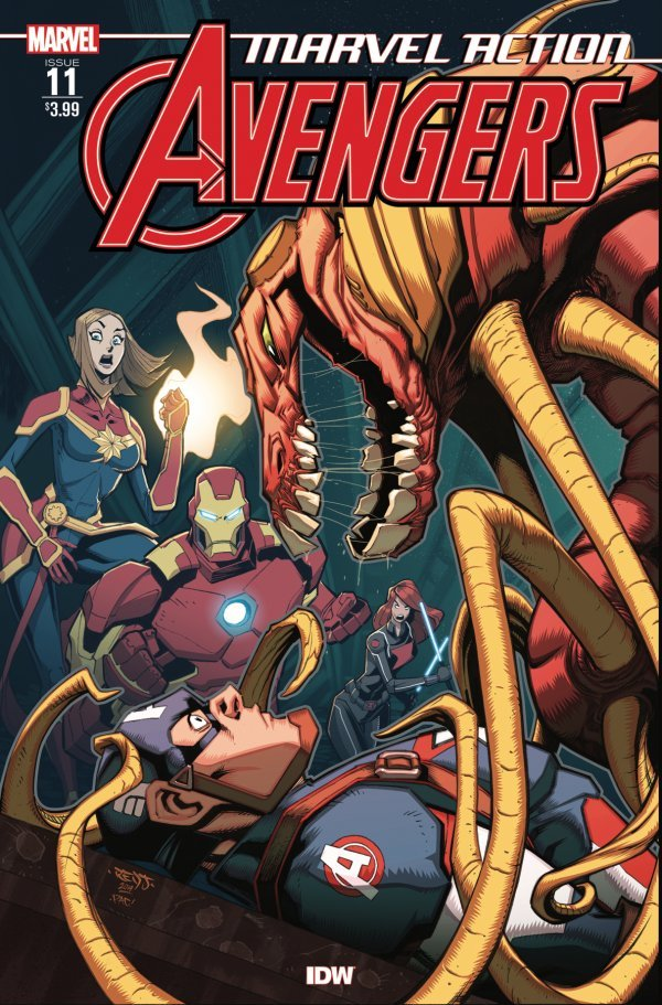 Comic Pulls up to the week of June 5, 2020 MARVEL ACTION AVENGERS #11