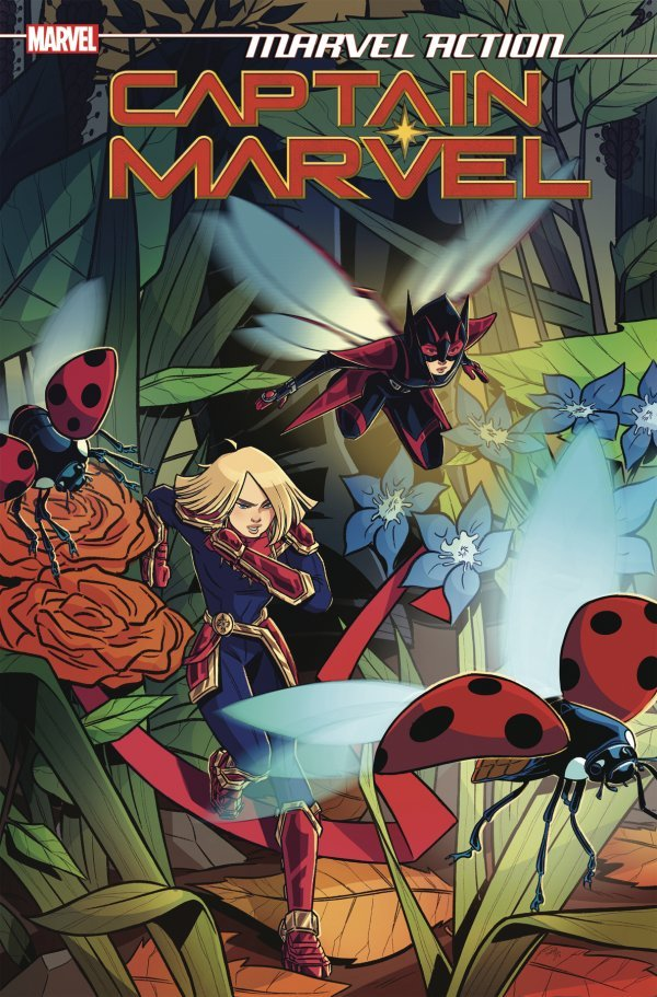 Comic Pulls up to the week of June 5, 2020 MARVEL ACTION CAPTAIN MARVEL #5