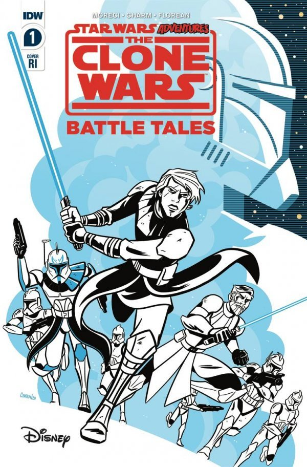 Comic Pulls up to the week of June 5, 2020 STAR WARS ADVENTURES THE CLONE WARS – BATTLE TALES #1 110 INCENTIVE VARAINT