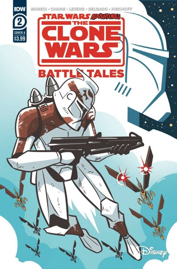 Comic Pulls for the week of June 25, 2020 STAR WARS ADVENTURES THE CLONE WARS – BATTLE TALES #2