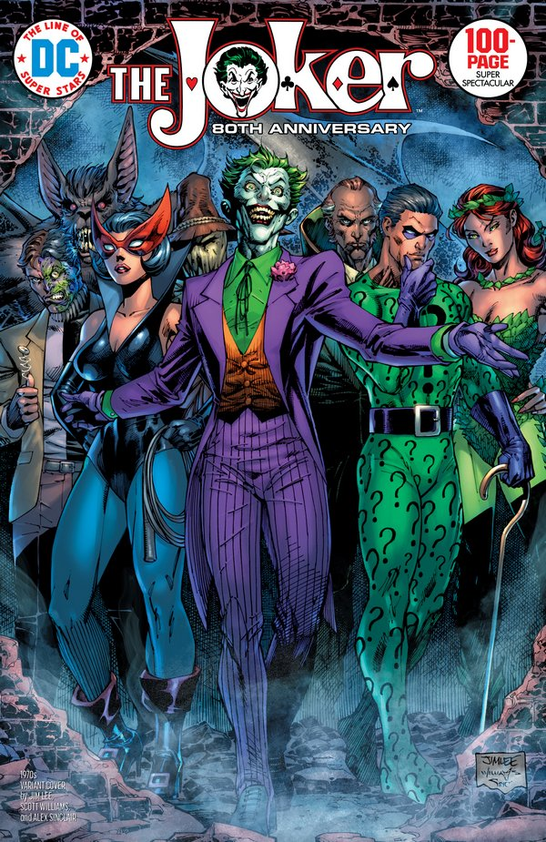 Comic Pulls up to the week of June 10, 2020 THE JOKER 80TH ANNIVERSARY 100-PAGE SUPER SPECTACULAR #1 1970S VARIANT EDITION