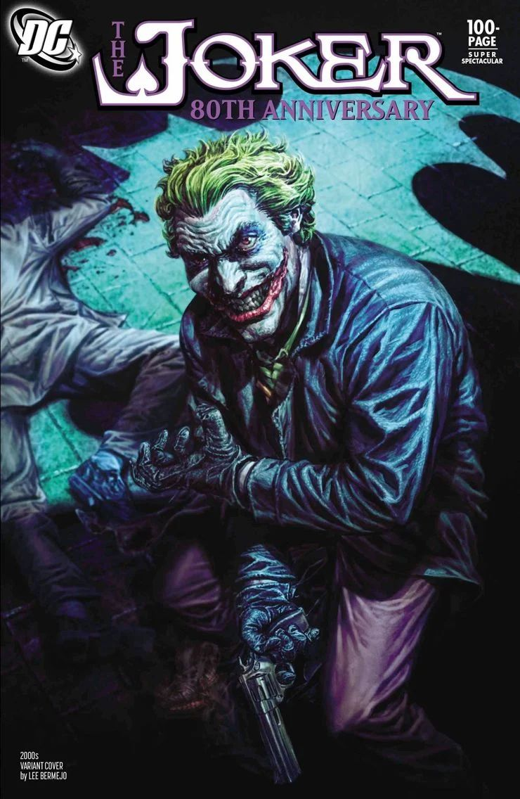 Comic Pulls up to the week of June 10, 2020 THE JOKER 80TH ANNIVERSARY 100-PAGE SUPER SPECTACULAR #1 2000S VARIANT COVER BY LEE BERMEJO
