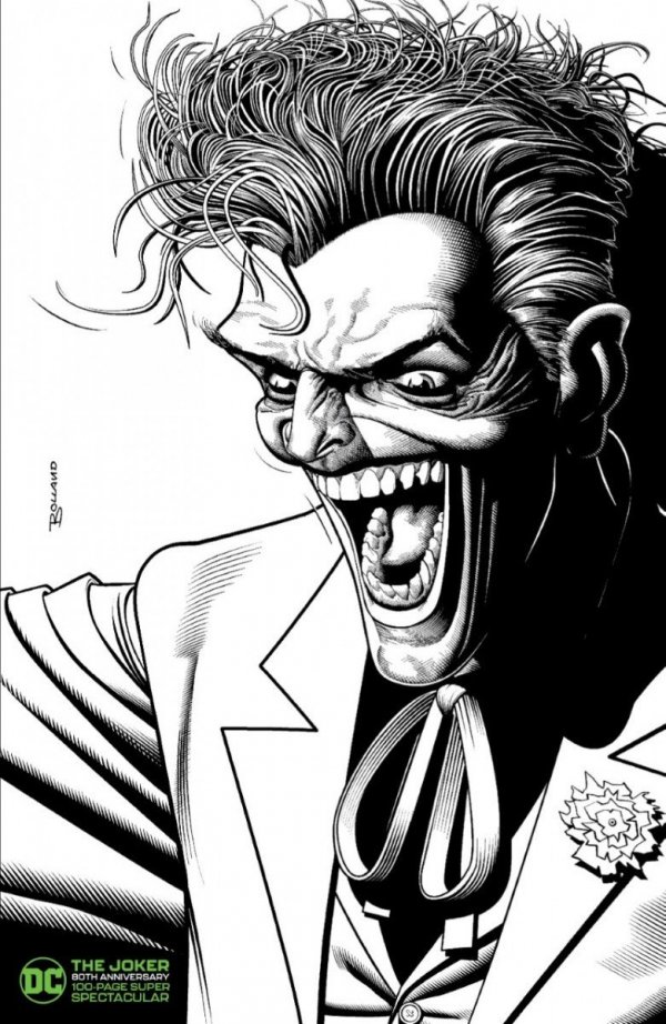 Comic Pulls up to the week of June 10, 2020 THE JOKER 80TH ANNIVERSARY 100-PAGE SUPER SPECTACULAR #1 BRIAN BOLLAND VARIANT B