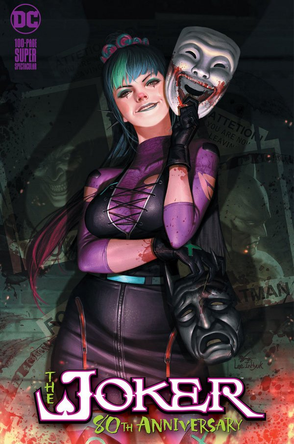 Comic Pulls up to the week of June 10, 2020 THE JOKER 80TH ANNIVERSARY 100-PAGE SUPER SPECTACULAR #1 MIDTOWN EXCLUSIVE COVER A INHYUK LEE ALLEY DRESSED VARIANT COVER