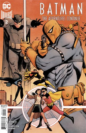 Comic Pulls for the week of July 10, 2020 BATMAN THE ADVENTURES CONTINUE #2