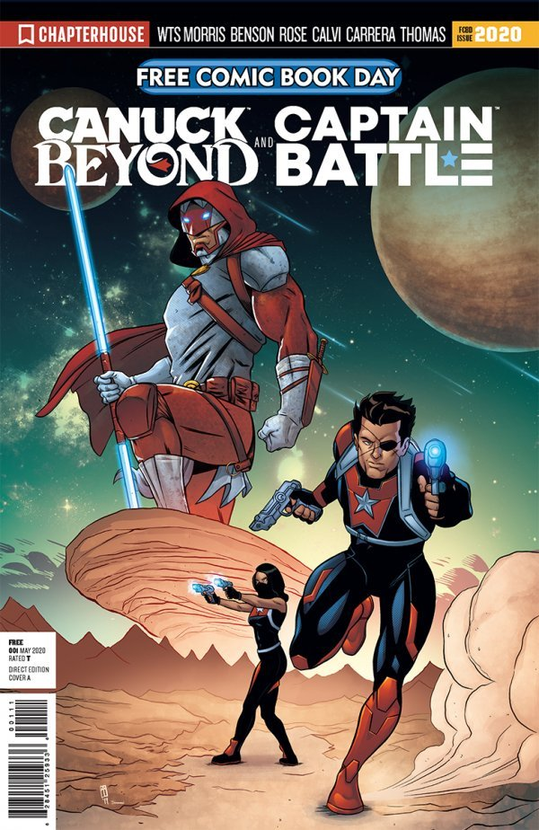 Comic Pulls for the week of July 17, 2020 FCBD 2020 CAPTAIN CANUCK & CAPTAIN BATTLE #1