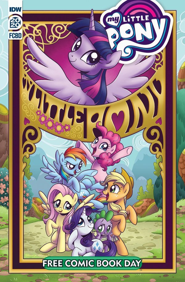 Comic Pulls for the week of July 17, 2020 FCBD 2020 MY LITTLE PONY – FRIENDSHIP IS MAGIC #1