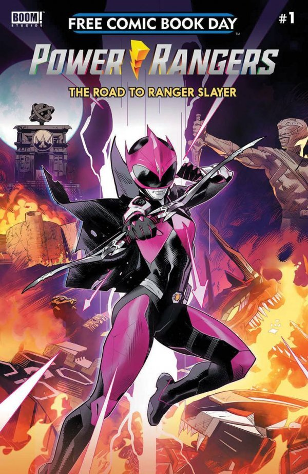 Comic Pulls for the week of July 17, 2020 FCBD 2020 POWER RANGERS – THE ROAD TO RANGER SLAYER #1