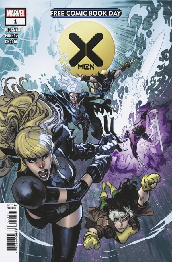 Comic Pulls for the week of July 17, 2020 FCBD 2020 X-MEN #1