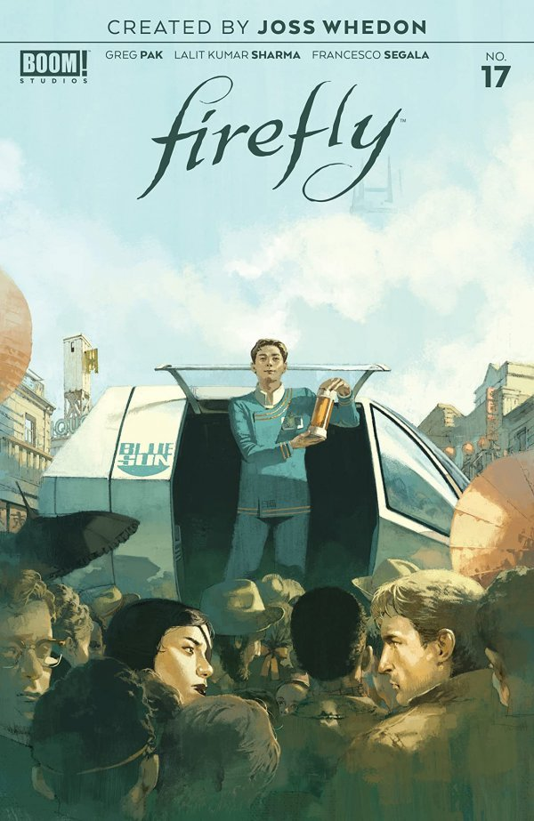 Comic Pulls for the week of July 10, 2020 FIREFLY #17