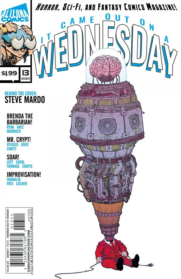 Comic Pulls for the week of July 10, 2020 IT CAME OUT ON A WEDNESDAY #13