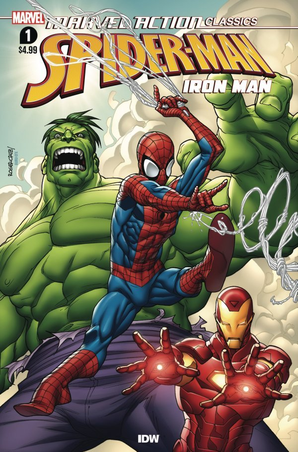 Comic Pulls for the week of July 10, 2020 MARVEL ACTION CLASSICS AVENGERS STARRING IRON MAN #1