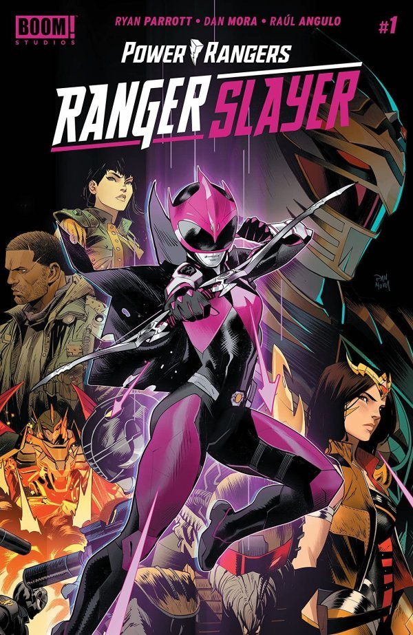 Comic Pulls for the week of July 22, 2020 MIGHTY MORPHIN POWER RANGERS RANGER SLAYER #1