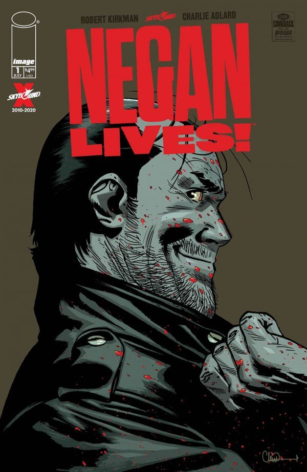 Comic Pulls for the week of July 10, 2020 NEGAN LIVES #1