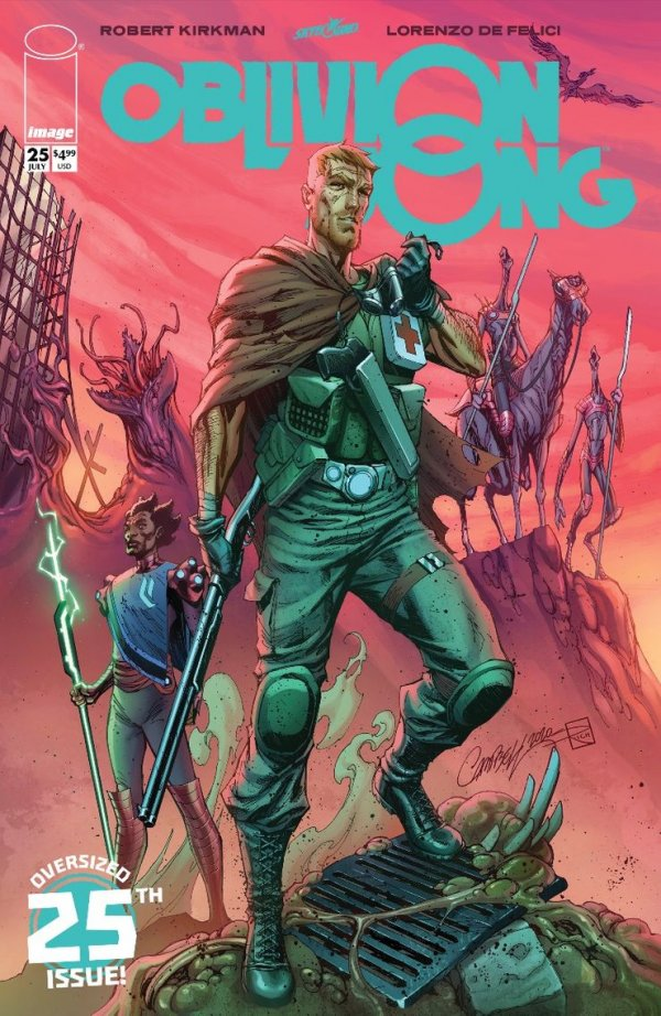 Comic Pulls for the week of July 10, 2020 OBLIVION SONG #25 COVER E CAMPBELL