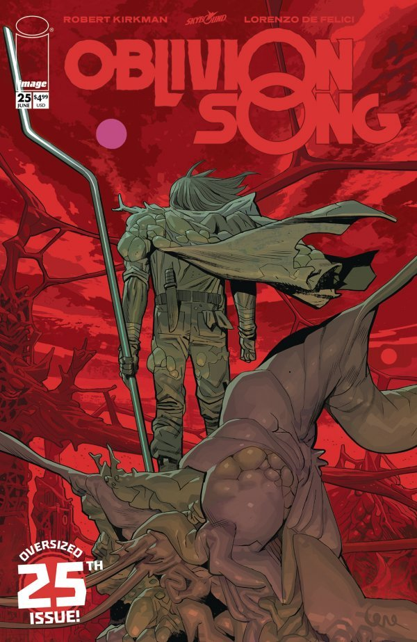 Comic Pulls for the week of July 10, 2020 OBLIVION SONG #25