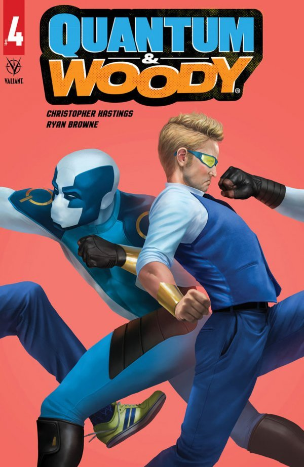 Comic Pulls for the week of July 10, 2020 QUANTUM & WOODY #4 COVER B RAHZZAH