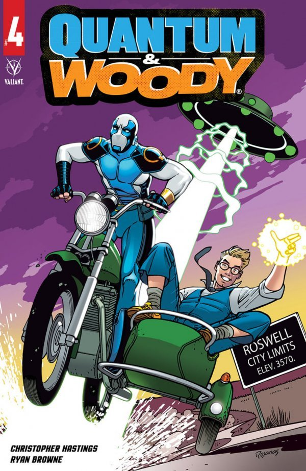 Comic Pulls for the week of July 10, 2020 QUANTUM & WOODY #4 COVER C ROSANAS