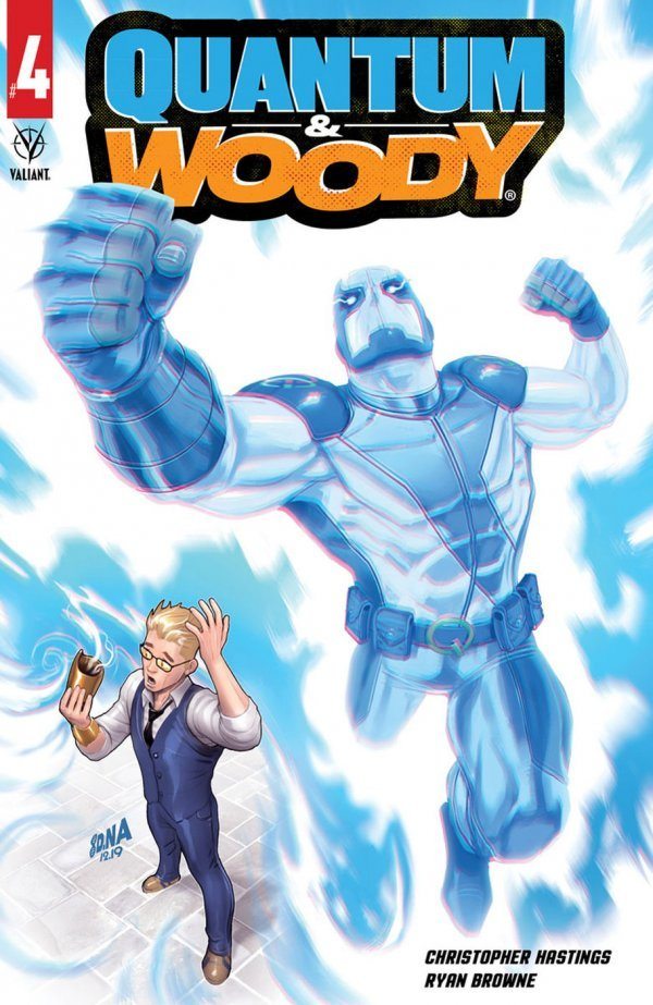 Comic Pulls for the week of July 10, 2020 QUANTUM & WOODY #4