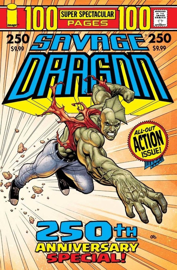 Comic Pulls for the week of July 17, 2020 SAVAGE DRAGON #250 COVER B FRANK CHO